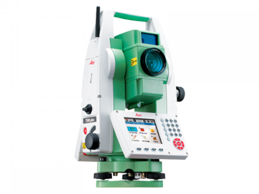 Leica Manual Total Station TS09 Plus